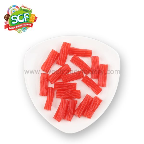 licorice rolls liquorice candy made by ExtruGroup machine from China candy manufacturer