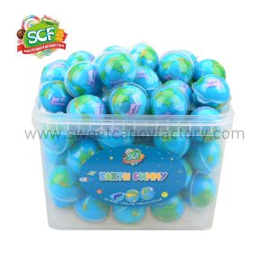 earth gummy from China candy factory