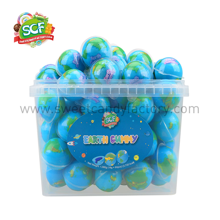 Bulk mukbang private label planet gummy with competitive price-sweetcandyfactory